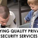 Ένα Εγχειρίδιο για την σωστή επιλογή Υπηρεσιών Ασφάλειας